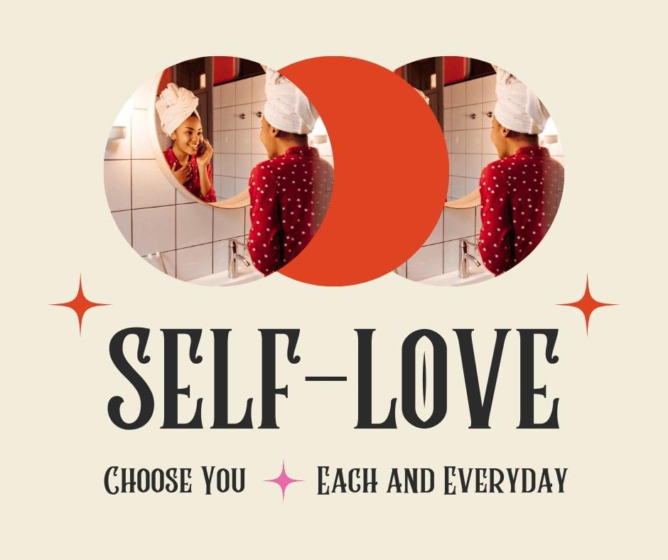 my love story self love image